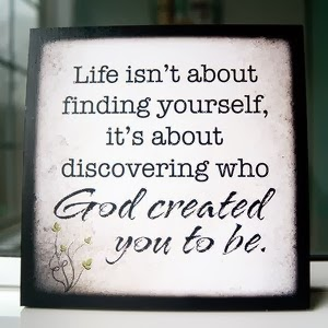 Who you were created to be
