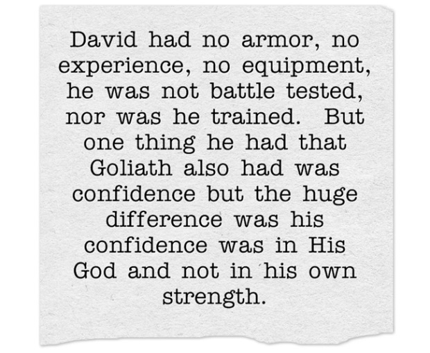 David-had-no-armor-no