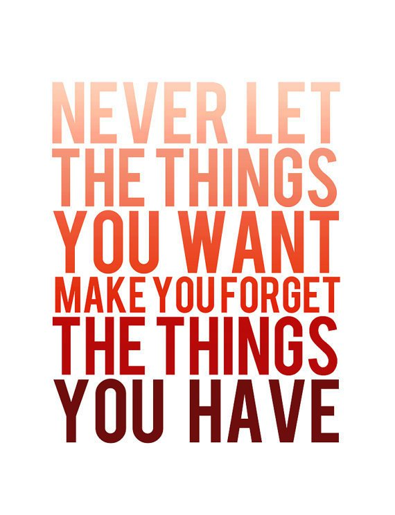 things_want